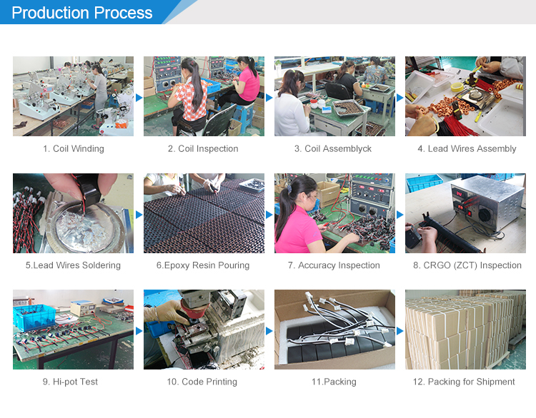 Current Transformer Production Process