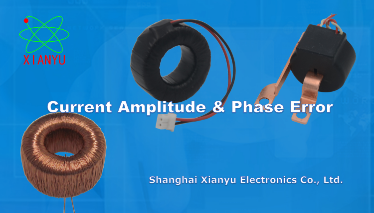 Current & Phase Error for Mini Current Transformer