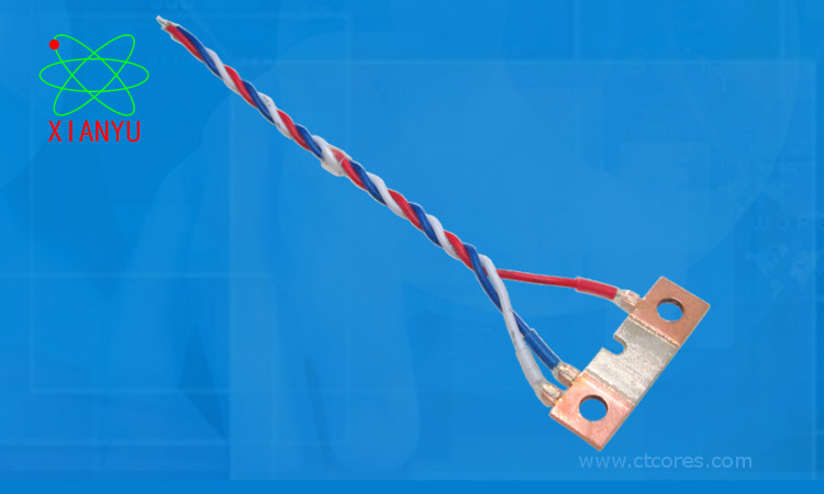 Lead Wire Integrated Shunt Resistor