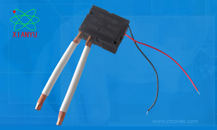 Latching Relay with Flexible Wire
