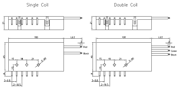 3-Phase Magnetic Latching Relay